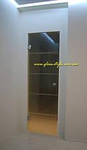 Стеклянные двери (без коробки)