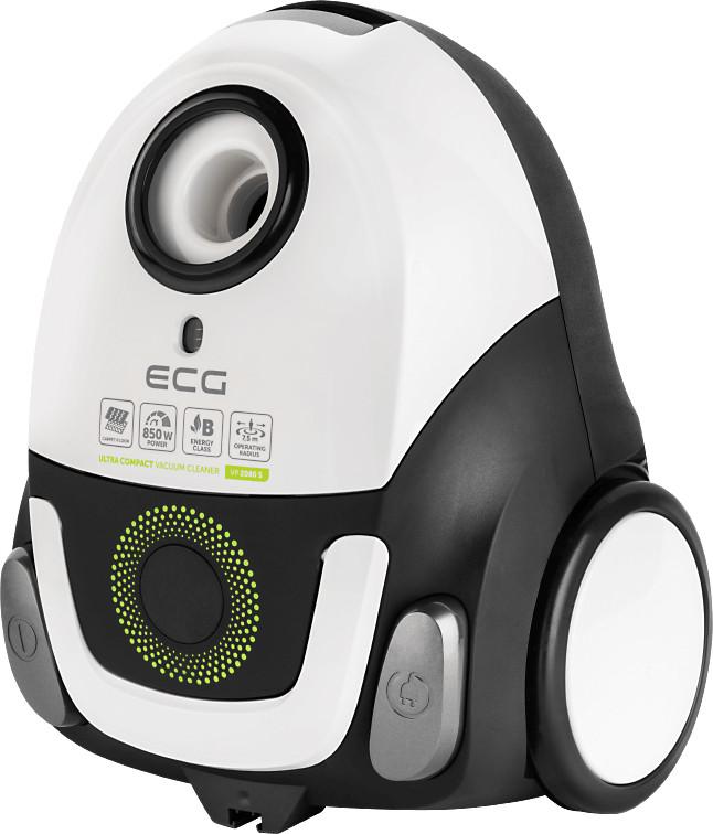 Пылесос ECG VP 2080 S 850 Вт Белый / Черный