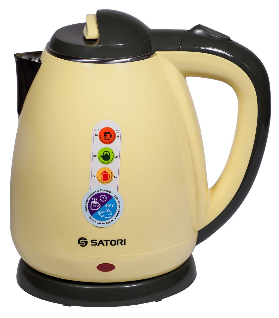 Электрочайник SATORI SSK-5160 1.8 л Желтый