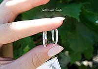Серебряные серьги Дорожки, фото 1