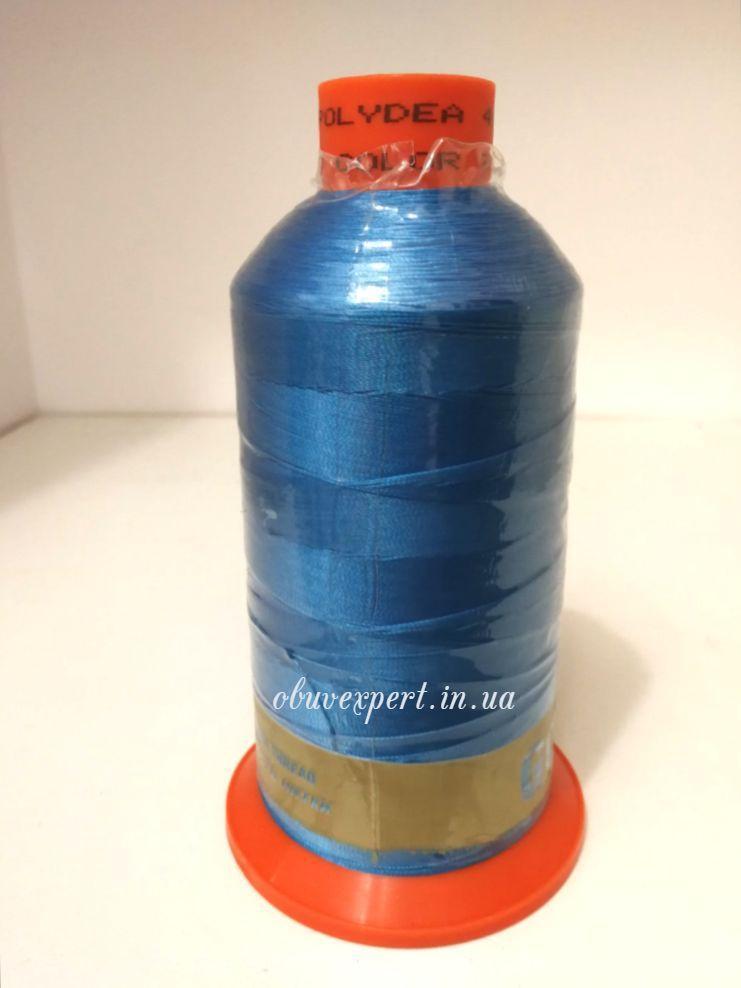 Швейная нить Gold Polydea 40 № 778, цв. голубой