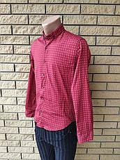 Рубашка мужская коттоновая брендовая высокого качества FACE&FACE, Турция, фото 2