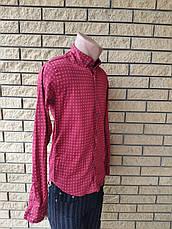 Рубашка мужская коттоновая брендовая высокого качества FACE&FACE, Турция, фото 3