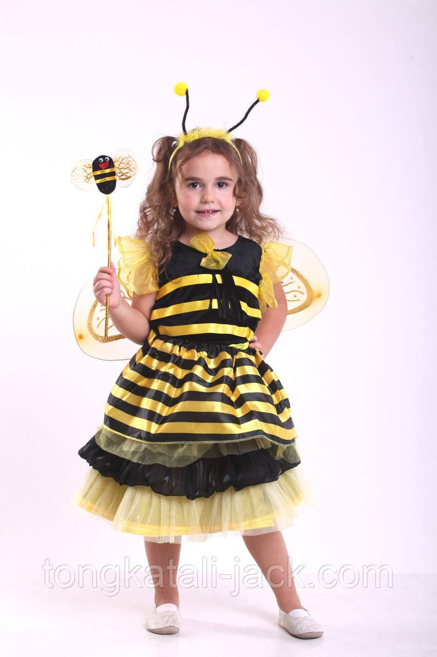 Костюм пчелки размер 104- 116, прокат карнавальной одежды