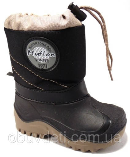 Дитячі сноубутсы для хлопчика Muflon 35-36 (23,5 см)