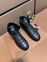 Высокие кроссовки Ugg Winter High Top Black, фото 1