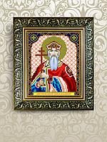 Схема для вышивки бисером именная Владимир
