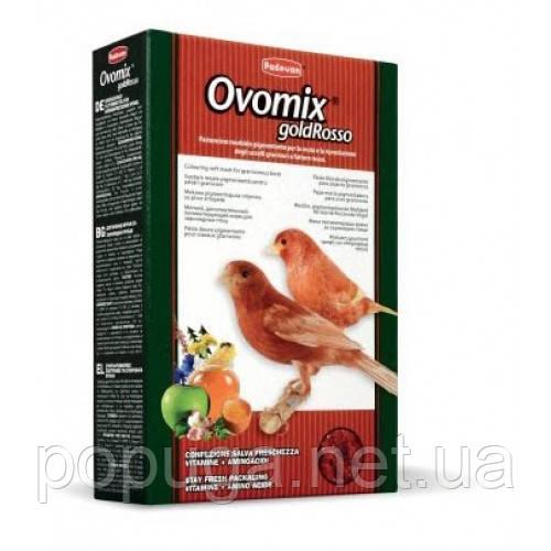 Padovan Ovomix Корм комплексный яичный для птиц с красным оперением, 300 г