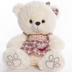 М'яка іграшка Ведмедик Мішель білий Копиця 21037