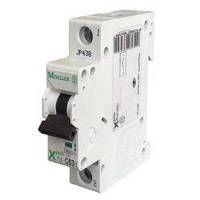 Автоматический выключатель однофазный PL4-C20A Moeller-EATON