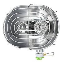 Туристический газовый обогреватель BRS-H22. Портативный обогреватель для палаток 1 кВт.