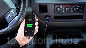 Автозарядка АЗУ 2USB BELKIN (2,1A/20Watt) Black + USB Cable iPhone 5/5S/5C/iPad 4