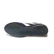 Обувь для бокса (боксерки) Adidas Box Hog 3 (cиние з белыми полосами, FV6585), фото 3
