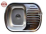 Кухонна мийка GALATI VAYORIKA 1.0 A SATIN (мийка врізна), фото 2