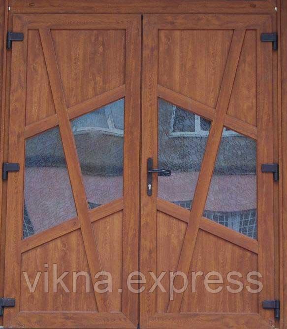 Входные двери ламинация золотой дуб