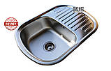 Кухонна мийка GALATI VAYORIKA 1.0 A SATIN (мийка врізна), фото 4