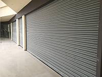 Рулонные ворота с внутривальным электроприводом из сплошного стального профиля DoorHan RHS117/08, фото 1