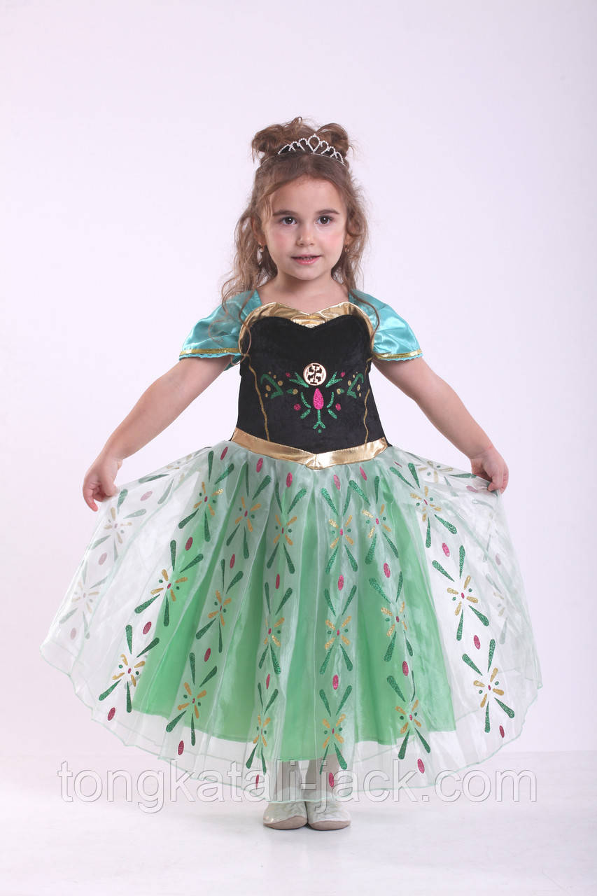 Платье принцессы Анны, прокат карнавальных костюмов