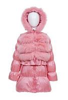 Пуховик SnowImage SIDY-B639 для девочек 110-116см