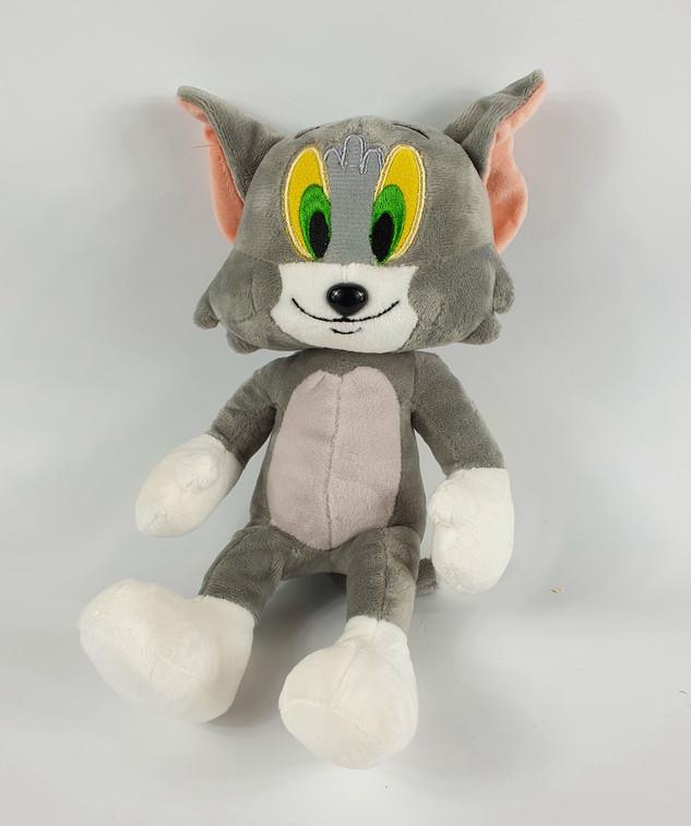 Мягкая игрушка, Том, с мультика том и Джери, приятная на ощупь, хорошего качества, интерестная, популярная