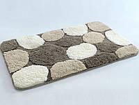 Набор ковриков в ванную Irya Gravel коричневый 60*100 + 45*60