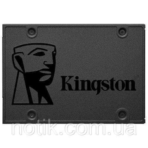 "Твердотельный накопитель 480Gb, Kingston SSDNow A400, SATA3, 2.5"", TLC, 500/450 MB/s (SA400S37/480G)"