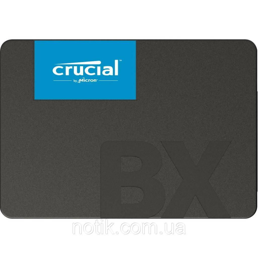 """Твердотельный накопитель 960Gb, Crucial BX500, SATA3, 2.5"""", 3D TLC, 540/500 MB/s (CT960BX500SSD1)"""
