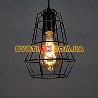 Люстра подвесная на одну лампу в стиле лофт 001/1 E