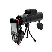 🔝 Монокуляр Панда для смартфона, Panda monocular 35х50, 10-ти кратный зум объектив для телефона | 🎁%🚚