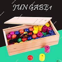 Деревянная игрушка Игровой набор Дары Фребеля. Комплект 11 - Цветные тела., развивающие товары для детей.