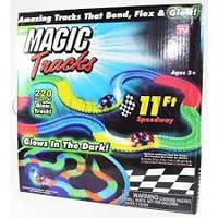 Гоночна траса, Конструктор Magik Tracks 360 деталей, 2 машинки, фото 1