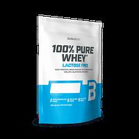 Сывороточный протеин концентрат BioTech 100% Pure Whey Lactose Free (454 г) биотеч пур вей cookies & cream