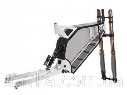 Рама Evel e-cross + suspension (с амартизатором и вилкой) - Экшен Стайл и Анука™ в Днепре