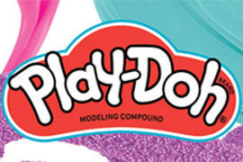 Слаймы Play-Doh