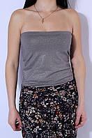 Топ женский серый 2667