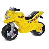 Мотоцикл толокар 2-х колесный музыкальный Orion 501Y Желтый