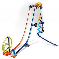 Трек Хот Вилс Гонки по вертикали напольно-настенный Hot Wheels Track Builder Vertical Launch Kit