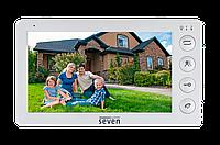 Домофон SEVEN DP–7574 FHD white, фото 1