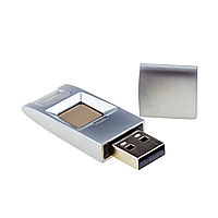 USB Flash накопитель со сканером отпечатков пальцев SEVEN Lock UF1 Silver, фото 1