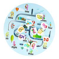 Деревянная игрушка Бродилка «Цифра», развивающие товары для детей.