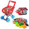 Детский игровой набор тележка с продуктами