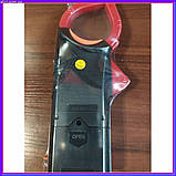 Професійний мультиметр тестер + струмовимірювальні кліщі DT 266 FT, фото 3