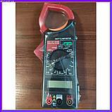 Професійний мультиметр тестер + струмовимірювальні кліщі DT 266 FT, фото 2