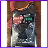 Професійний мультиметр тестер + струмовимірювальні кліщі DT 266 FT, фото 5