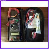 Професійний мультиметр тестер + струмовимірювальні кліщі DT 266 FT, фото 6