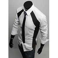 Рубашка мужская модная (Белый)