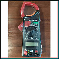 Профессиональный мультиметр тестер + токоизмерительные клещи DT 266 FT