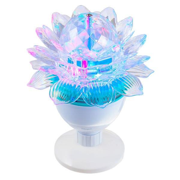 Дисколампа светодиодная с патроном LED Mini Party Light SF-0823