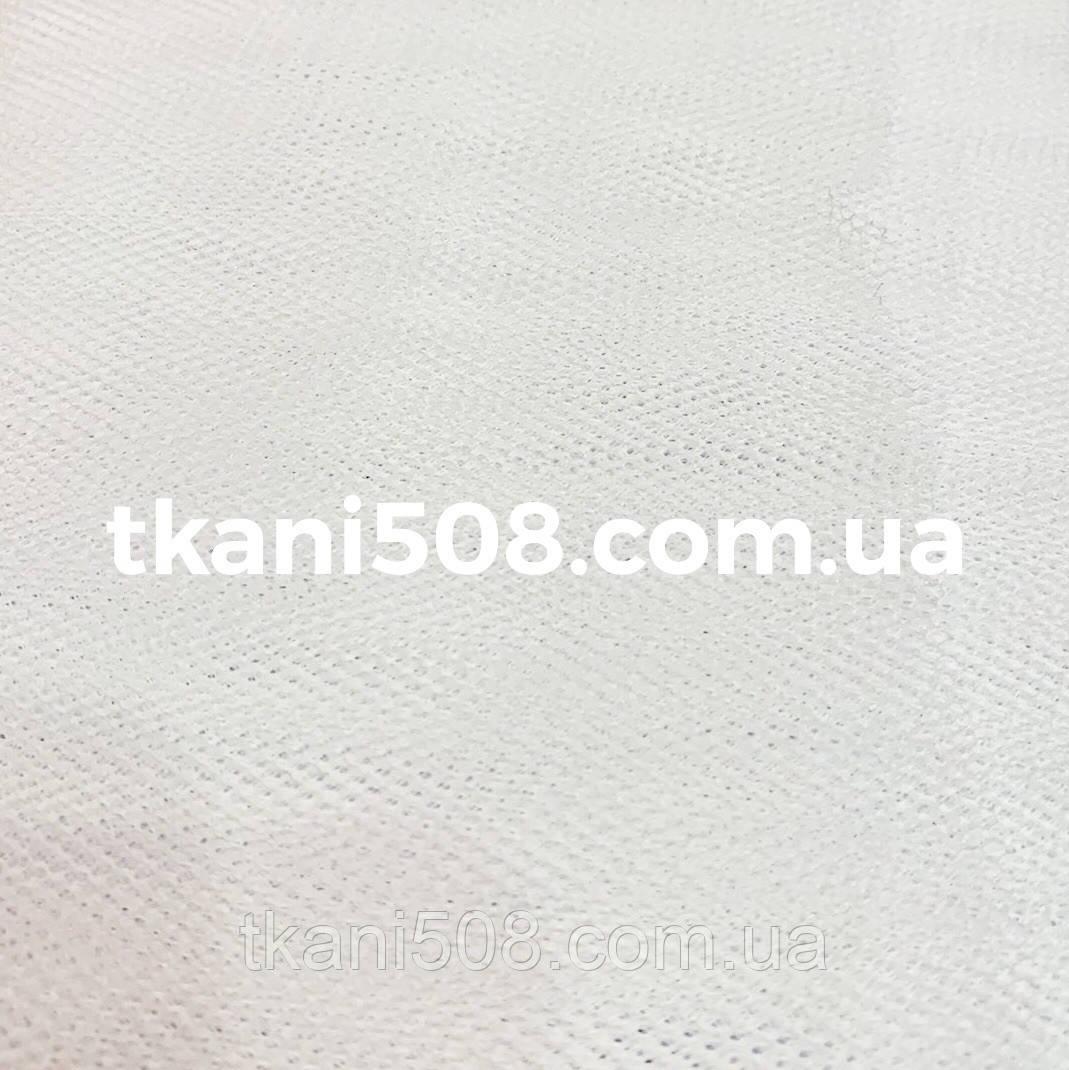 Жесткий Фатин белый  (1,8 ширина)
