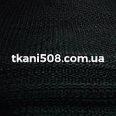 Жесткий Фатин чёрный  (1,8 ширина)